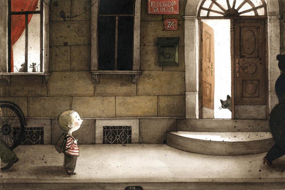 Maja Kastelic и ее книга «Мальчик и Дом»